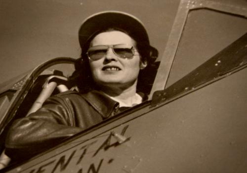 WW2: Nancy Corrigan, Sky Blazer
